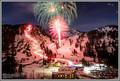 Alta Ski Area New Years Eve Fireworks