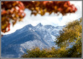 Red, Yellow, Blue - Fall Color Mountain Scene
